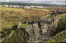 SX0588 : Tintagel Castle by Ian Capper