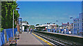 TQ2576 : Parsons Green station, 2008 by Ben Brooksbank