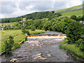 SD8164 : Weir on River Ribble by Trevor Littlewood