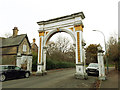 TA0830 : Pearson Park arch by Stephen Craven