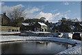 SK1260 : Hartington in the snow : Week 49
