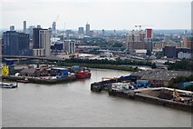 TQ3980 : Mouth of the River Lea by N Chadwick