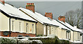 J3874 : Rooftops and snow, Ballyhackamore, Belfast (December 2017) by Albert Bridge