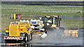 J3775 : Taxiway clearance, Belfast City Airport (December 2017) by Albert Bridge