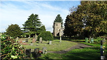 SJ9743 : Dilhorne - All Saints Church by Colin Park