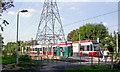 TQ2668 : Phipps Bridge tram-stop, 2005 by Ben Brooksbank