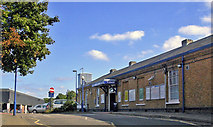 TQ1289 : Pinner station, exterior 2009 by Ben Brooksbank