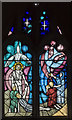 SK7694 : Stained glass window, All Saints' church, Misterton by Julian P Guffogg