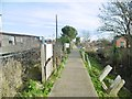 TQ2104 : Shoreham-on-Sea, footpath by Mike Faherty