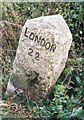 SU9992 : Old Milestone by A Rosevear & J Higgins