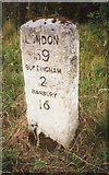 SP6633 : Old Milestone by A Rosevear & J Higgins