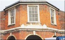 SU8693 : Old Milestones on the Little Market House, High Wycombe by A Rosevear & J Higgins