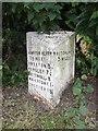 SJ5147 : Old Milepost by J Haynes