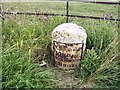 NY2747 : Old Milestone by the A595, north east of B5305 crossroads by CF Smith
