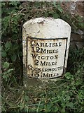 NY2546 : Old Milestone by CF Smith