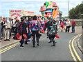 NU0051 : Rag Bag Morris Dancers at Spittal Seaside Festival by Jennifer Petrie