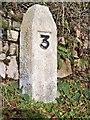 SW4231 : Old Milestone by Ian Thompson