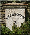 ST6412 : Old Milepost by Colin Payne