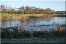 NS3586 : Lochan beside The Claret Jug by Richard Sutcliffe
