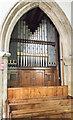 SK7694 : Organ, All Saints' church, Misterton by Julian P Guffogg