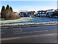 ST3090 : Patchy snow in Malpas, Newport by Jaggery