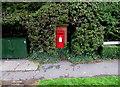 ST0981 : King George VI postbox, Bronllwyn, Pentyrch by Jaggery