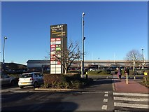 ST1774 : Cardiff Bay Retail Park by Alan Hughes