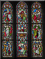 SK7792 : Stained glass window, St Mary Magdalene church, Walkeringham by Julian P Guffogg