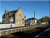 NT1067 : Kirknewton Station by Mary and Angus Hogg
