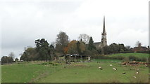SO9969 : Tardebigge - St Bartholomew's Church as seen from Dusthouse Ln by Colin Park