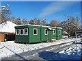 SO8377 : The Portacabin, Springfield Park, Kidderminster by P L Chadwick