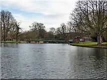 TL0549 : River Great Ouse, Bedford by Robin Webster