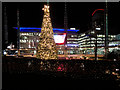 SJ8097 : Christmas at MediaCityUK by David Dixon