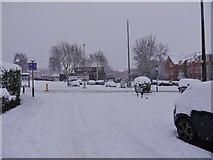 SO9194 : Snowy Cabin by Gordon Griffiths
