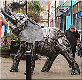 NS3321 : Elephant at Newmarket Street, Ayr by Billy McCrorie