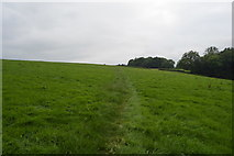 TQ3328 : Footpath across field by N Chadwick