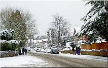 SO9095 : Winter on Mount Road in Penn, Wolverhampton by Roger  Kidd