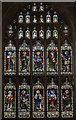 SK7081 : West window, St Swithun's church, Retford by Julian P Guffogg