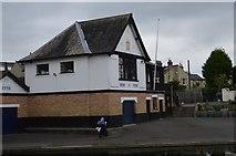 TL4559 : Peterhouse Boathouse by N Chadwick