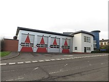 NZ2364 : Newcastle Central Fire Station by Graham Robson