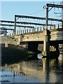 SE2933 : Bridge and gantries by Alan Murray-Rust