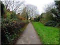 SP5104 : Cycle track and footpath by Hinksey Lake by Steve Daniels