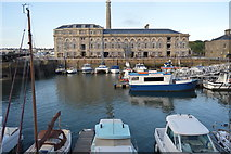 SX4653 : Royal William Yard - Bakery & Dock Basin by N Chadwick