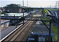 TQ5282 : Rainham (Essex) station, view SE 2005 by Ben Brooksbank