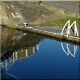 SE2833 : Lock reflections by Alan Murray-Rust
