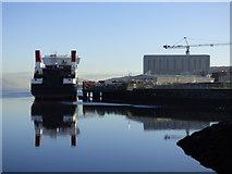 NS3274 : Glen Sannox at Newark Quay by Thomas Nugent