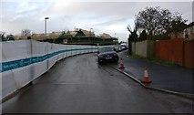 SK5802 : Construction along the Old Saffron Lane by Mat Fascione