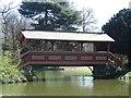 SJ3189 : Swiss Bridge, Birkenhead Park, Birkenhead by Graham Robson
