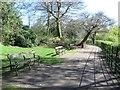 SJ3089 : Lakeside path, Birkenhead Park, Birkenhead by Graham Robson