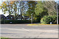 SE3692 : Junction of Boroughbridge Road and Harewood Lane by Roger Templeman